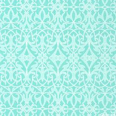 Stained Glass Symmetry in Azure from the 'Sweet Harmony' collection by Amy Hamberlin for Henry Glass & Co.