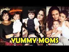 Top 8 TV Mothers With Their Real Kids 2017
