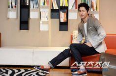 Kang Ji Hwan INTERVIEW PICTURES FROM SPORTSCHOSUN
