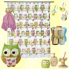 Owl Bathroom, created by across71 on Polyvore