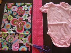Ideas for baby crochet onesie dress tutorials Baby Sewing Projects, Sewing For Kids, Sewing Tutorials, Dress Tutorials, Sewing Ideas, Beginners Sewing, Onesie Dress, Baby Dress, Ruffle Dress