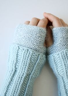 Whit's Knits: Cuffed HandWarmers