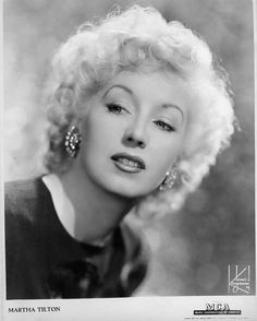 """Vocalist, Martha Tilton aka """"Liltin"""" Martha Tilton, was a member of the vocal quartet, The Three Hits and A Miss, before becoming a """"songbird"""" with Benny Goodman. By 1942, she had become a solo performer and had a signed recording contract with Johnny Mercer's Capitol Records, in Hollywood."""