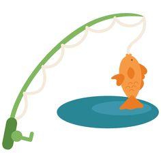 Papercraft Mini Fish Pack! (fish, fishing rod, lure, and