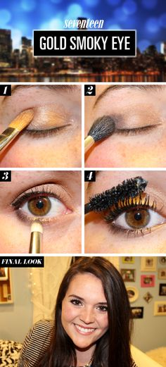 Girls Night Out Makeup Tutorial - Simple Makeup How To For Night Out - Seventeen