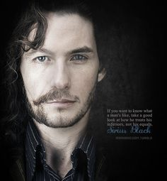 Sirius Black. No matter how many times I read or watch his death I want to cry.