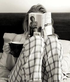 Coffee and a good read #sweetmoments