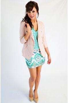 Shimmer Darling Tribal Print Skirt