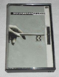 Scorpions Crazy World Audio Music Cassette 1990 Mercury Hard Rock Wind of Change