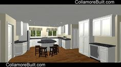 Collamore Built | Residential Design and Construction : Cook Road Walk Through via Chief Architect