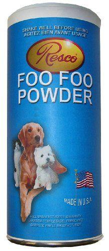 Resco Original Foo Foo Powder Odorless 100 Natural Dry Shampoo And Coat Shine For Dogs Cats Small Pets Be Sure T Small Pets Natural Dry Shampoo Cat Shampoo