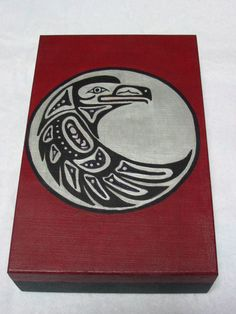 Haida crow. I'm going to design an amalgamation of Haida ravens for a tattoo.