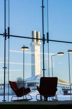 "(beyond glass) Lakeuden Risti : ""Cross of the Plains"" church, Seinäjoki Finland (1957-60) | Alvar Aalto"