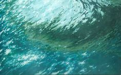 """Saatchi Art Artist Margaret Juul; Painting, """"Turquoise Wave"""" #art"""