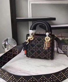 040844282632 Replica Christian Dior Supple Lady Dior Mini Bag #4649 2