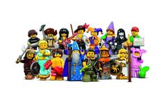Lego Series 12 Collectible Minifigures 71007 - Complete Set of 16 for sale online Space Miner, Krusty The Clown, Lego Girls, Lego People, Lattice Design, Lego Design, Lego Group, Lego Creations, Orange And Purple