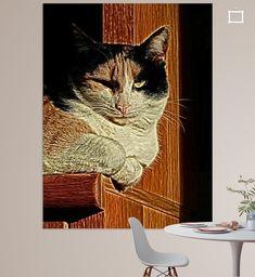 Nieuw in mijn Werk aan de Muur shop: lapjes kat