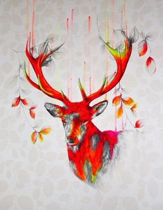 Wild environment 3 by Louise McNaught