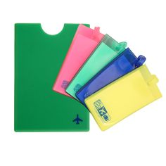 Passport Cover Luggage Set Green