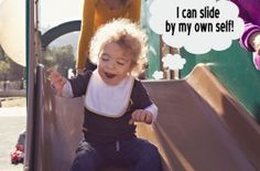 learning to slide!