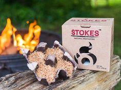 All-Natural Fire Starters by Stokes