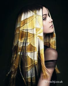 Angelo Seminara British Hairdresser of the Year Nominee - Hairstyle Designer Collection Hair Stenciling, Angelo Seminara, Hair Rainbow, Creative Hair Color, Avant Garde Hair, Corte Y Color, Fantasy Hair, Hair Shows, Girls Braids