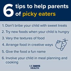 Do you have a picky eater in your household? Picky eating can be part of the growing process for children and isn't necessarily a bad thing. See what advice our experts have for parents in dealing with a picky eater. #pickyeater #healthy #kids #advicesforparents Group Meals, Family Meals, Mind Institute, Food Texture, Picky Eaters Kids, Toddler Development, Having Patience, Animal Crackers, Childrens Hospital