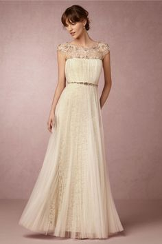 Marchesa and BHLDN just dropped a line of wedding dresses under $2,200 dollars: