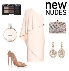 """""""New nudes """" by adriana-elena-pusco on Polyvore featuring Givenchy, Christian Louboutin, Suzanne Kalan, Kelly Wearstler and NARS Cosmetics"""
