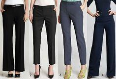 Dress for Your Body Shape: Pear Shape : Pants