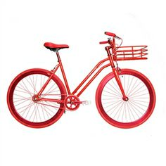 Martone Cycling Company - Women's Gramercy Bike in Red - Found at Ron Robinson