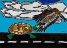 Taking off.  New art by Jeremy Raglin (C) 2013