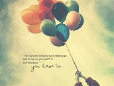 Yeah it really is the hardest thing to do....