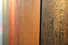 Segui il Tuo Isinto effetto Bambu nei colori caldi e impreziositi con Gioia. #interiors #design #decorazione #casa #pitturadecorativa #pareti #ggf #paintwall #wallpaint #decoration #home #wall