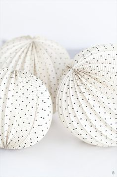 Polka Dot Wedding lanterns