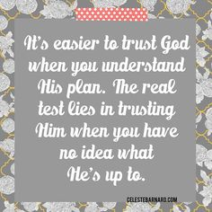 """Job 13:15- Though he slay me, yet will I trust in him. #trustHim #WhenIdontunderstand #YetIpraiseHim"""