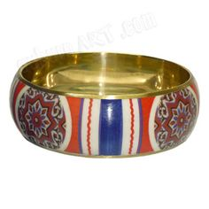 Auburn Tile Bangle Bracelet - Wear your Orange and Blue with style - Perfect with any Attire!  AuburnArt.com Exclusive!