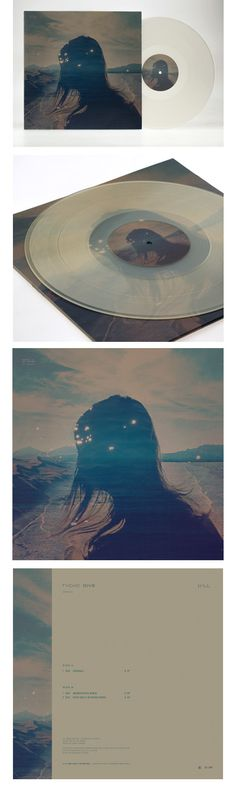 """12"""" vinyl features a 2-panel, 3mm spine, stock art jacket with a matte finish inserted in paper dust sleeves. Standard weight vinyl.    Clear Opaque vinyl is limited to 300 exclusively available online.    Standard Black vinyl is limited to 700 worldwide.  Artwork by ISO50.  http://www.merchline.com/iso50/categorydisplay.5554.c.htm"""