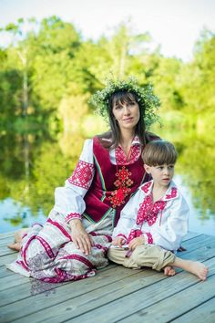 Belarus National / Traditional Dress. Photo credit to Mila Jackson Photography: Lasting Memories By MJ Photography Facebook Album Traditional Dress. She also has some photos of Russian and Ukrainian Traditional Dress posted.