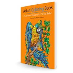 Win an Adult Coloring Book with 29 Animal Designs for Stress... IFTTT reddit giveaways freebies contests