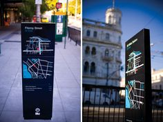 by Kristy Brown @ Studio Binocular  - City of Port Phillip: Wayfinding Signage