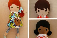 17 rag dolls and handmade cloth dolls to steal your child's heart