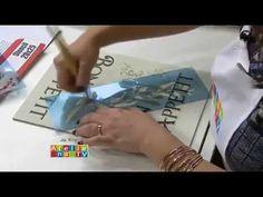 Stencil OPA - 02/02/15 - Mayumi Takushi - Base Giratória Pimentas - YouTube