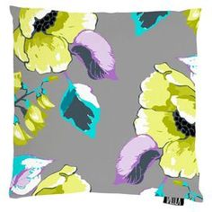 Silkkisuukko Cushion Cover in Lime