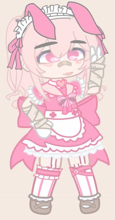 Girl Drawing Sketches, Cute Drawings, Character Outfits, My Character, Pink Aesthetic, Aesthetic Anime, Club Outfits, Girl Outfits, Manga Clothes