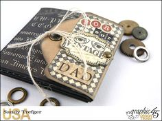 Sandy's Crafty Creations » Sandy's Crafty Creations is a blog featuring handmade cards, mini albums, mixed media art journals, scrapbook page layouts and tutorials created by Sandy Trefger of Weatherford, Texas.
