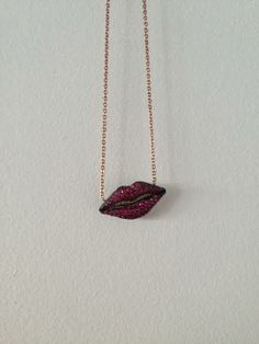 a kiss on your lips. shop at www.v5jewellery.com