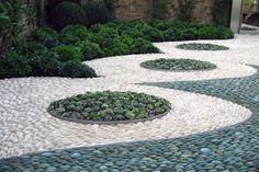 Pebble Mosaic Garden