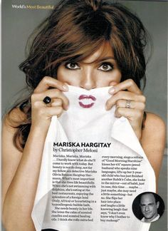 Chris Melon on Mariska Hargitay #SVU
