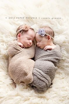 Shabby Chic Newborn Twin Girls {Delray Beach Newborn Photographer} | Paper Petunia Family Photography | best stuff